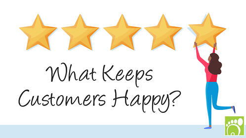 What keeps customers happy