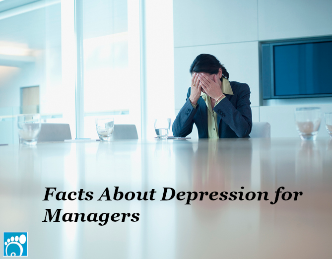 Woman who wish she knew facts about depression for managers