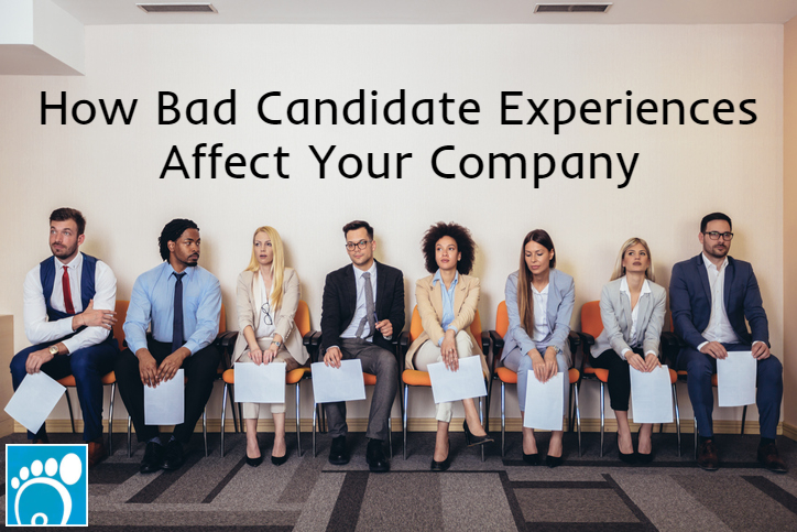 Group of applicants who know how bad candidate experiences affect your company