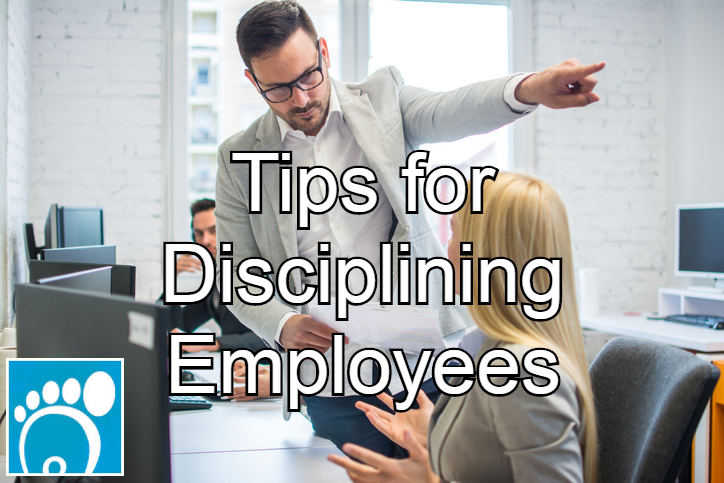 tips for disciplining employees