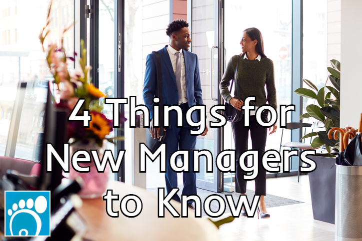 four things for new managers to know