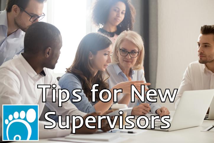 tips for new supervisors