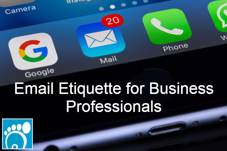 email etiquette for business professionals