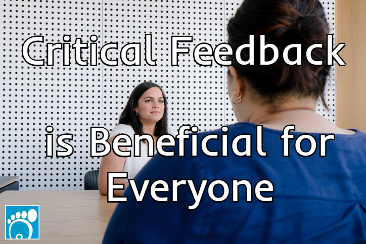 critical feedback is beneficial for everyone